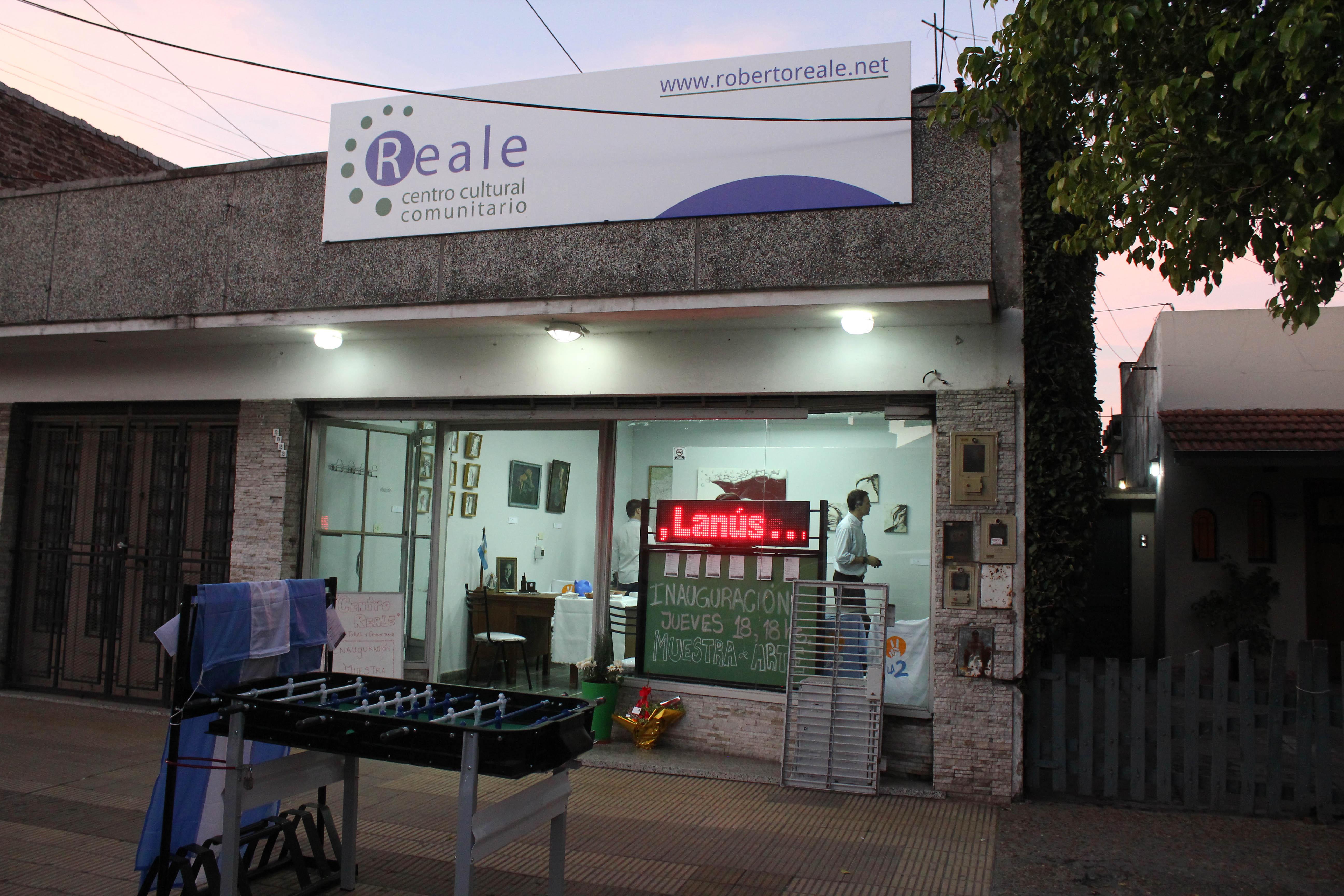 Inauguración del Centro Reale Cultural y Comunitario