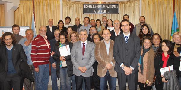 Capacitación para Concejales de San Vicente y Cañuelas
